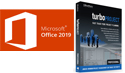 Microsoft Office Pro 2019 with TurboProject Pro - Project Planning Bundle (Windows Download) THUMBNAIL