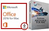 Microsoft Office 2016 with AntiVirus for Mac (WAH Download)