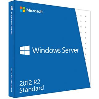Microsoft Windows Server 2012 Standard 64-Bit with 5 Client Access Licenses
