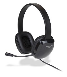 Cyber Acoustics AC-6008 Stereo Headset with Mic LARGE