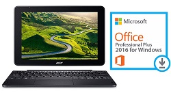 "Acer One 10 S1003 10.1"" Touchscreen 4-in-1 Detachable Tablet PC w/Microsoft Office 2016 (On Sale!)"