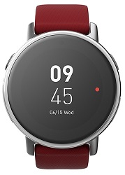 Acer Leap Ware Bluetooth Fitness Smartwatch for Android or iOS (Red)_LARGE