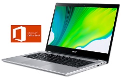 "Acer Spin 3 14"" FHD Touchscreen Intel Core i5 8GB 2-in-1 Laptop with Pen & MS Office Pro 2019 LARGE"