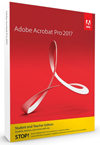 Adobe Acrobat Pro 2017 for Windows (DVD)