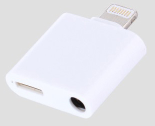iPhone Splitter - Lightning Port and 3.5mm Headphone Port