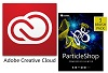 Adobe Creative Cloud Student & Teacher Edition with ParticleShop (1 Year Sub)