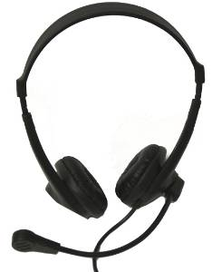 Avid AE-18 On-Ear Headset with Mic LARGE