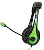 Avid AE-36 On-Ear Stereo Headset with Mic (Green) THUMBNAIL