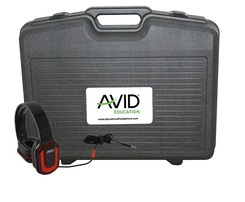 Avid AE-66 Over-Ear Headphones (Classroom 24-Pack with Case) (3 Colors) LARGE