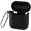 DigiPower Silicone Carrying Case with Carabiner for Apple AirPods (3 Colors) THUMBNAIL