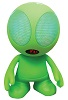 Supersonic Alien Encounter Portable Wireless Bluetooth Speaker (Green)