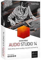 MAGIX Creative Software Sound Forge Audio Studio 14 (Download) LARGE