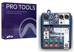 Avid Pro Tools Academic 1-Year Sub w/ 1-Year Software Updates + Support Plan Mixing Bundle LARGE