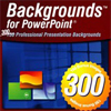 300 Backgrounds for PowerPoint (Download) - ON SALE!