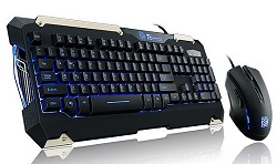 TT eSports COMMANDER Gaming Keyboard & Mouse Combo (Battle Dragon)