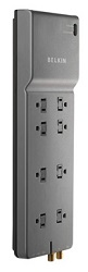 Belkin 3550 Joule 8-Outlet Surge Protector with Coaxial Protection LARGE