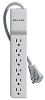 Belkin 720 Joule 6-Outlet Surge Protector with Rotating Plug