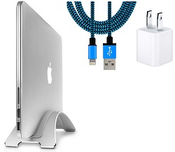 Twelve South BookArc for MacBook with FREE Lightning Cable & USB Adapter