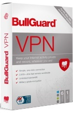 Bullguard VPN 2021 for Up to 6 Devices for Mac/Windows/iOs/Android 1-Year (Download) LARGE