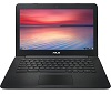 "ASUS Chromebook C300SA Series C300SA-DH02 13.3"" Intel Celeron 4GB RAM Chromebook PC (Black)"