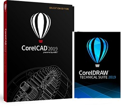 Corel CorelCAD 2019 Technical Suite for Windows (Download)_LARGE