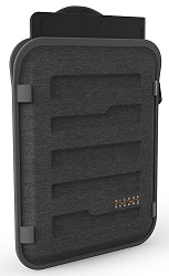 "Higher Ground Capsule Carrying Case Sleeve for 13""-15"" Apple, Notebooks & Chromebooks LARGE"