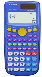 Casio FX-55PLUS Fraction Calculator_LARGE