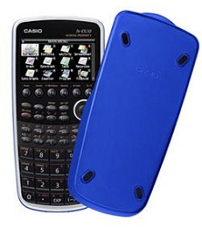 Casio PRIZM FX-CG10 Graphing Calculator (School Property Blue)