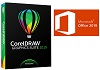 Microsoft Office 2019 Pro Plus with CorelDRAW Graphics Suite 2019 (Windows)