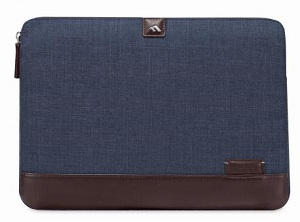 "Brenthaven Collins Sleeve for 11"" Devices (Indigo Chambray)"