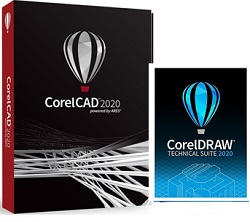 Corel CorelCAD 2020 Technical Suite for Windows (Download) LARGE