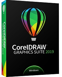Corel CorelDRAW Graphics Suite 2019 Education Edition for WINDOWS (DVD) LARGE