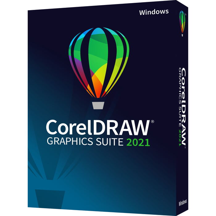 Corel CorelDRAW Graphics Suite 2021 for WINDOWS (DVD) (When Purchased w/MS Office or Own Office) THUMBNAIL