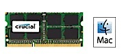 Crucial 8GB 1600Mhz DDR3 204-Pin SoDIMM SDRAM Memory Module for Mac LARGE