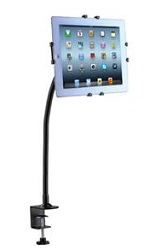 CTA Digital Gooseneck Clamp Mount for iPad and Tablets