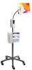 "CTA 58"" HD Gooseneck Floor Stand for 7-13"" Tablets w/Sanitizing Station & Automatic Soap Dispenser THUMBNAIL"