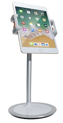 CTA Digital Height-Adjustable Desktop Tablet Stand LARGE