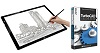"Adesso CyberPad P2 12"" x 17"" LED Light Tracing Pad with FREE TurboCAD Deluxe 2018"