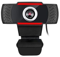 Adesso CyberTrack H3 720p HD USB Webcam with Built-in Microphone LARGE