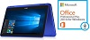 "Dell Inspiron 11 3168 11.6"" Touchscreen 32GB HD 2-in-1 Laptop w/MS Office 2016 (Blue)"