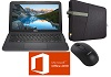 "Dell Inspiron 11 3180 11.6"" AMD A6 4GB RAM Laptop Student Bundle w/MS Office Pro 2019"
