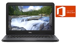 "Dell Latitude 3300 13.3"" Intel Celeron 4GB Laptop for Students w/Office Pro 2019_LARGE"