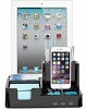 Sima Technology Desktop Organizer with 3 USB Ports (Black)