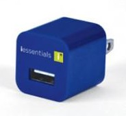 DigiPower iEssentials USB Wall Charger (Blue)