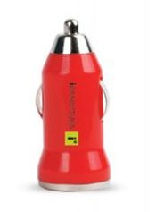 DigiPower iEssentials USB Car Charger (Red)