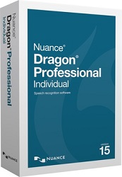 Nuance Dragon Professional Individual 15.0 Upgrade Academic