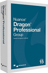 Nuance Dragon Professional Group 15.0 Academic (Up to 20 Users Per School) 1-Yr Maintance & Support LARGE