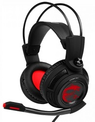 MSI DS502 Gaming Headset with Voice Disguising (On Sale!) LARGE