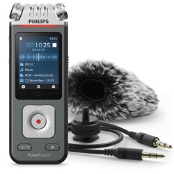 Philips VoiceTracer DVT7110 8GB Digital Audio Recorder with FREE! Extras (On Sale!) LARGE