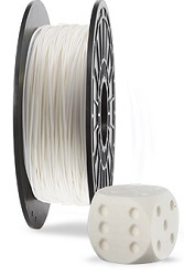 Dremel 3D Printer Filament (PLA Cotton White)